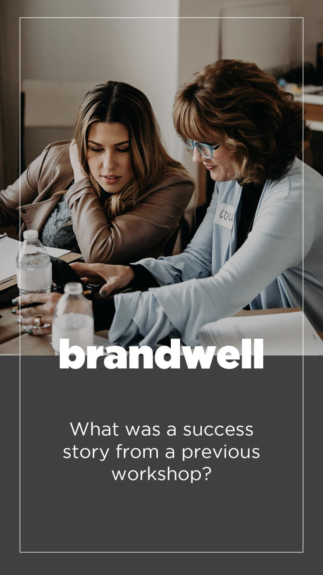 Brandwell Workshop Fairy Godmother Colleen Marie Consulting