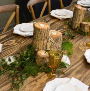 Wedding Decor: Bringing the Outdoors IN