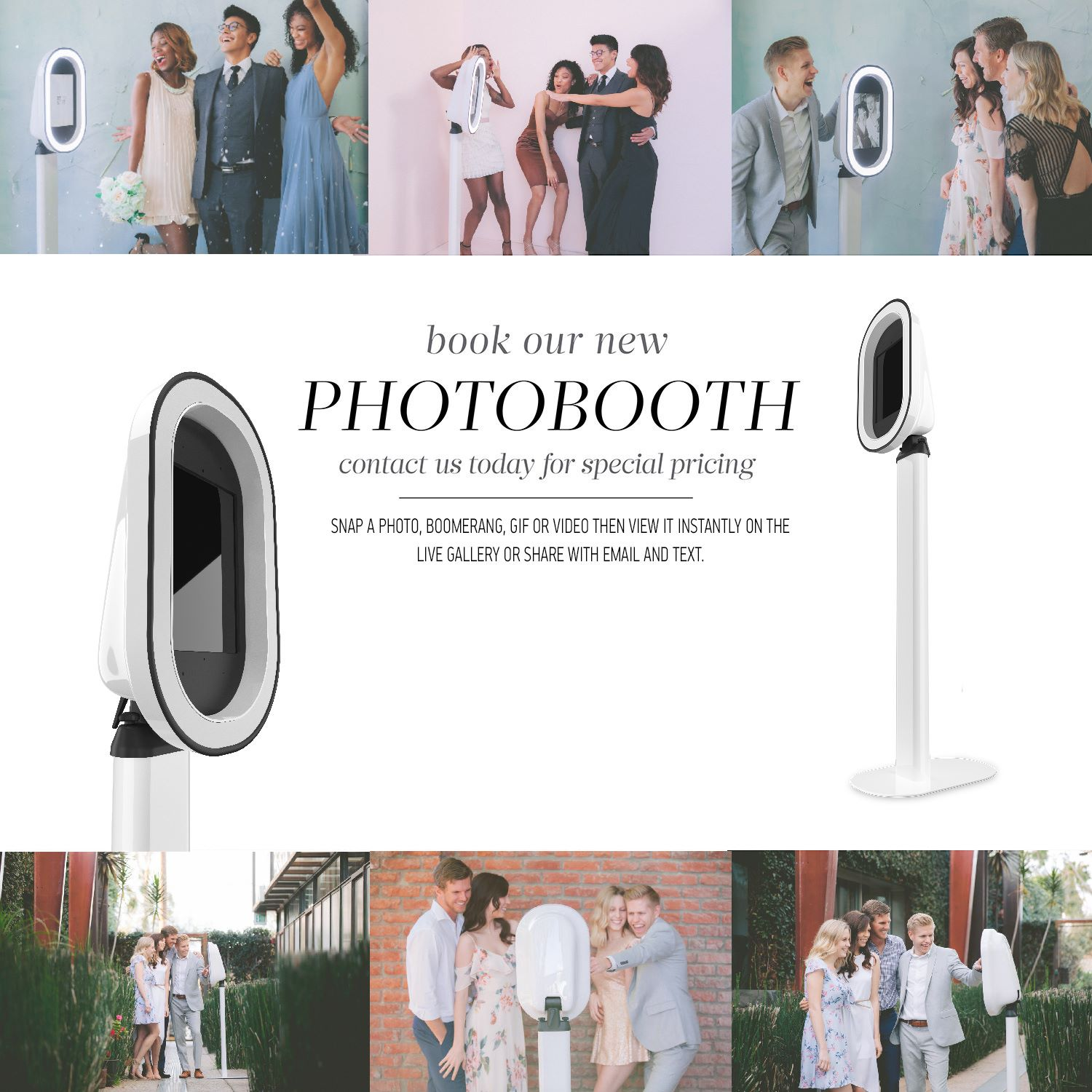 Fairy Godmother Photobooth rental for you next wedding or event in Bakersfield