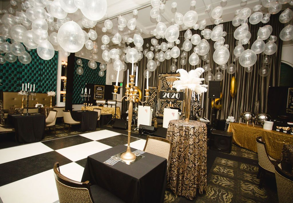 Roaring 20's Party by Fairy Godmother Corporate and Social Events in Bakersfield, California