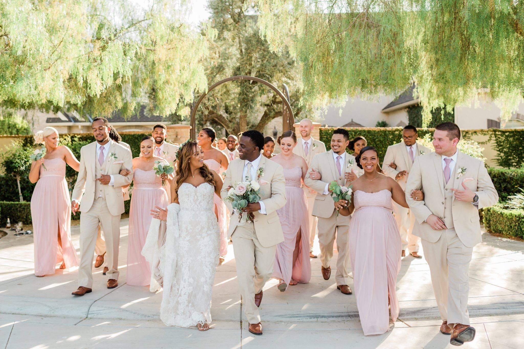 Kiana and Terrance's wedding